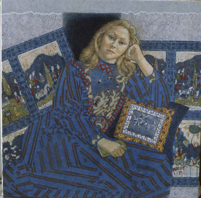 utermohlen-1982-rosamund-122x122cm oil on canvas